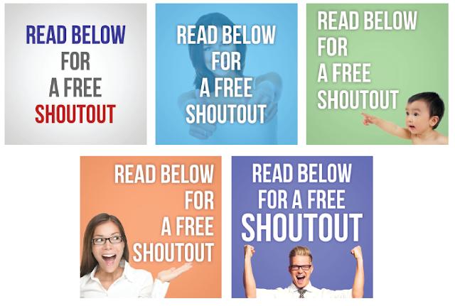 Promosi Shoutout for Shoutout di Instagram