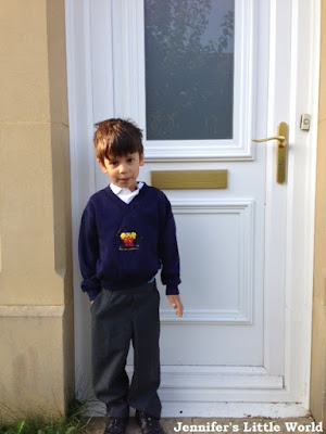 Child starting in Year One