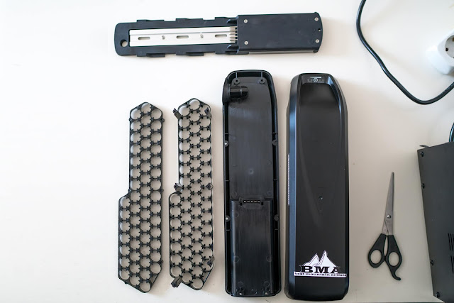 E-Bike Akku bauen Anleitung E-Bike Akku selbst bauen – Dein DIY Li-Ion Power-Akku aus 18650 Zellen  Akku löten  Akku-schweißen  DIY-Akku-Pack 05