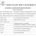 Mountain Top University 2016-17 Academic Calendar Published