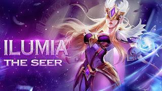 Kata-Kata Hero Ilumia Arena Of Valor (AOV) Beserta Artinya