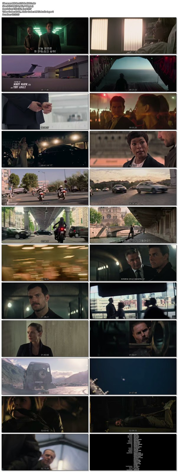 Mission Impossible Fallout 2018 Daul Audio HC HDRip 480p