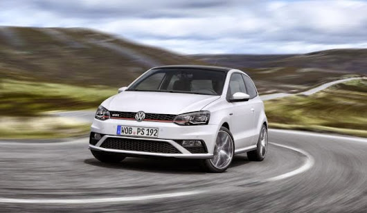 All About Vehicles: Volkswagen revealed Volkswagen Polo GTI facelift at Paris Motor Show.
