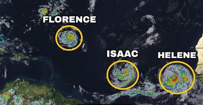 Tormenta Tropical Isaac-TuParadaDigital