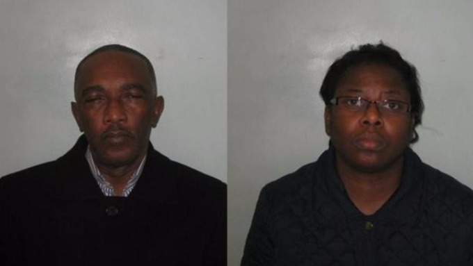 nigerian couple jailed uk
