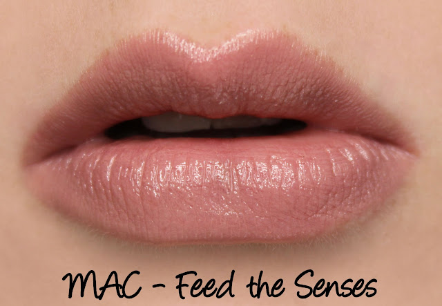 MAC MONDAY | Indulge - Feed the Senses Lipstick Swatches & Review