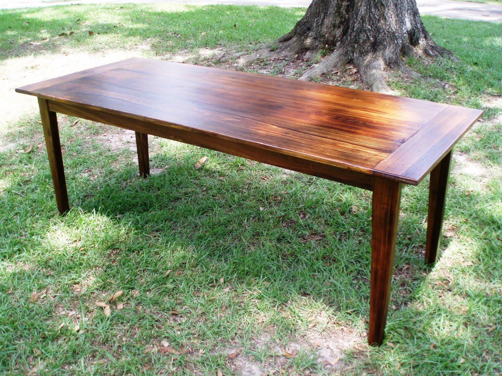 "Three Coins 96"" Cypress Patio Table - 1009 |Artsy Tables Cypress"