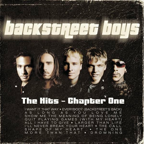 Backstreet Boys - The Hits - Chapter One Cover