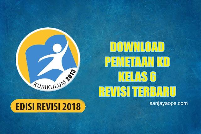 download pemetaan kd k13 kelas 6 pdf tahun 2019/2020