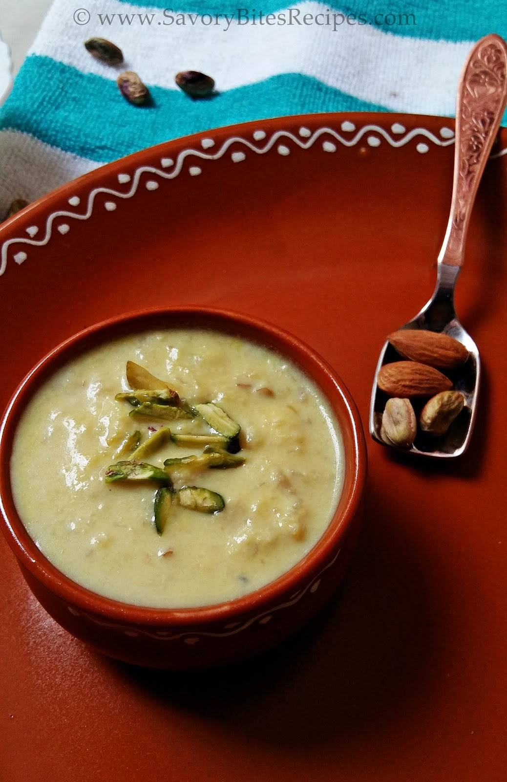 Apple Mawa Kheer Holi Recipe Holi Festive Recipe Traditional Indian Kheer
