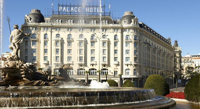 Westin Palace Madrid Exterior