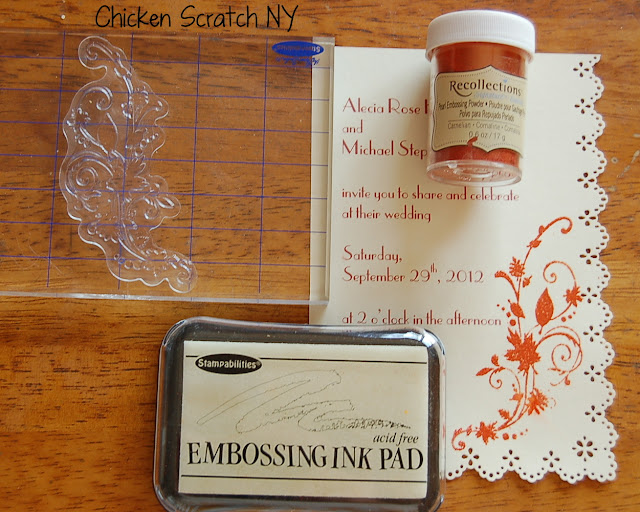 Diy Autumn Wedding Invitations: DIY Autumn Wedding Invitations