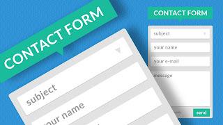 Cara Buat Contact Form di Blog
