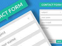 Cara Buat Contact Form di Blog
