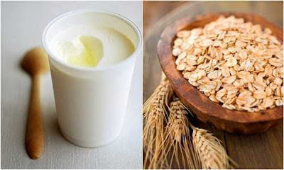 Mặt nạ trị thâm hiệu quả với bột yến mạch và sữa chua 1