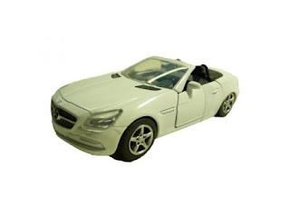 Mercedes-Benz SLK weiß 2012 Modellauto 1:32 NewRay