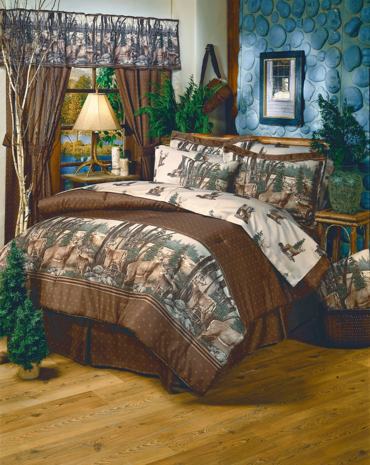 Keeping Your Theme In Check   Rustic Cabin/Lodge Bedding Ideas