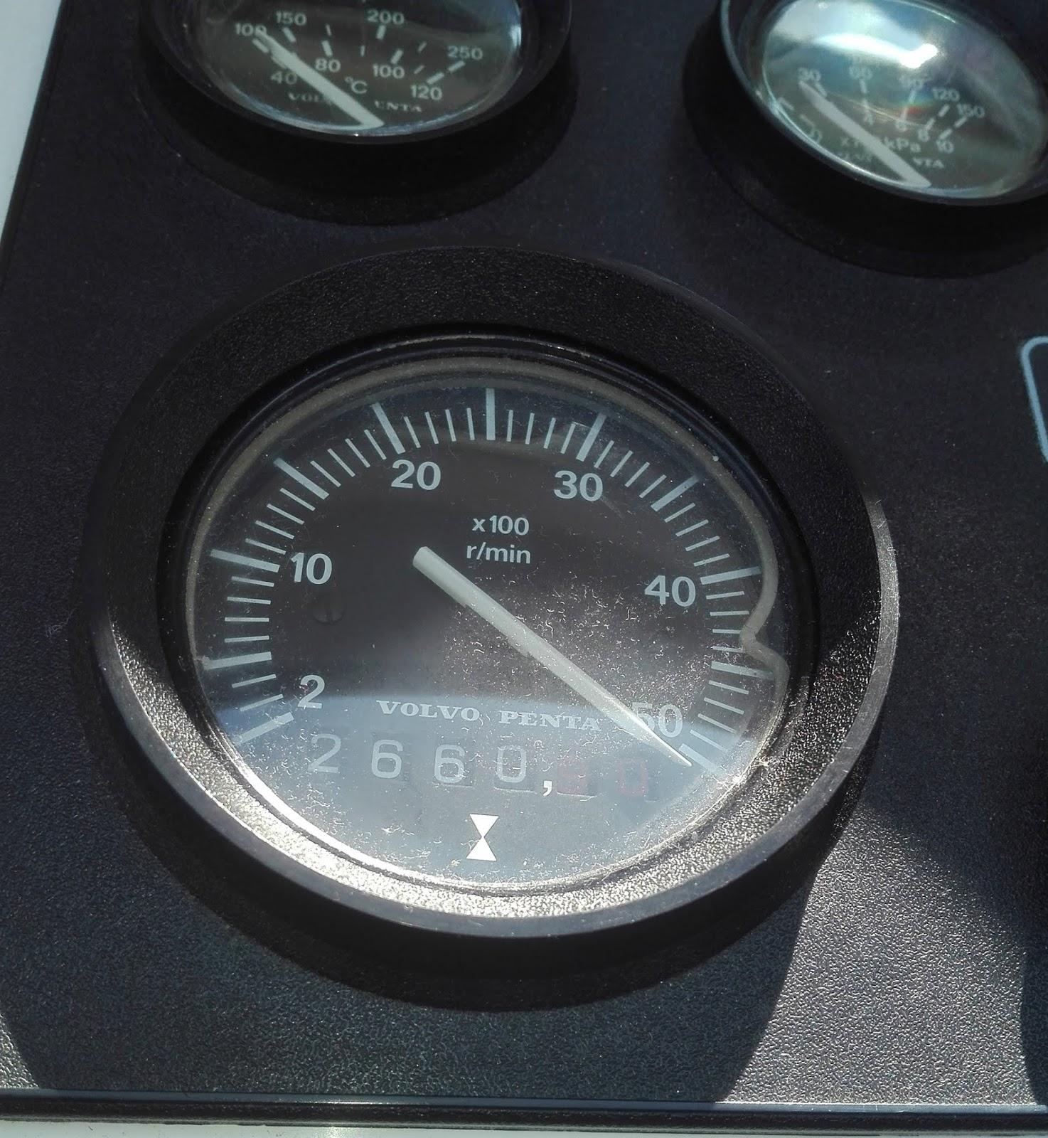 Miten kytkeä kierros luku mittari