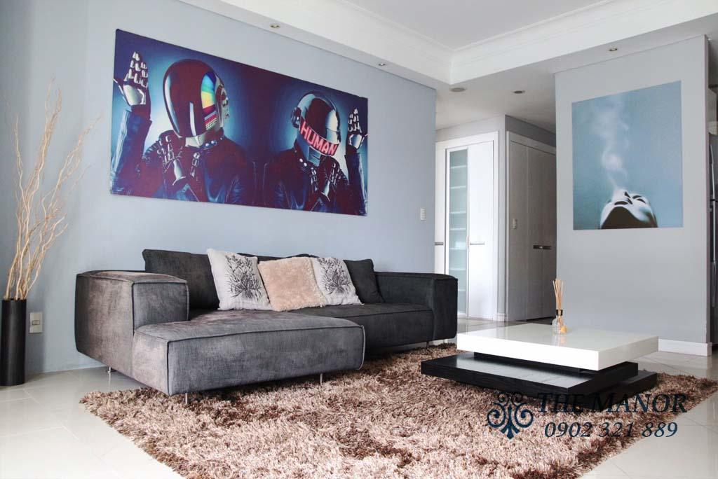 Siêu hot bán căn hộ Manor giá rẻ 2PN full nội thất view Bitexco - hình 4