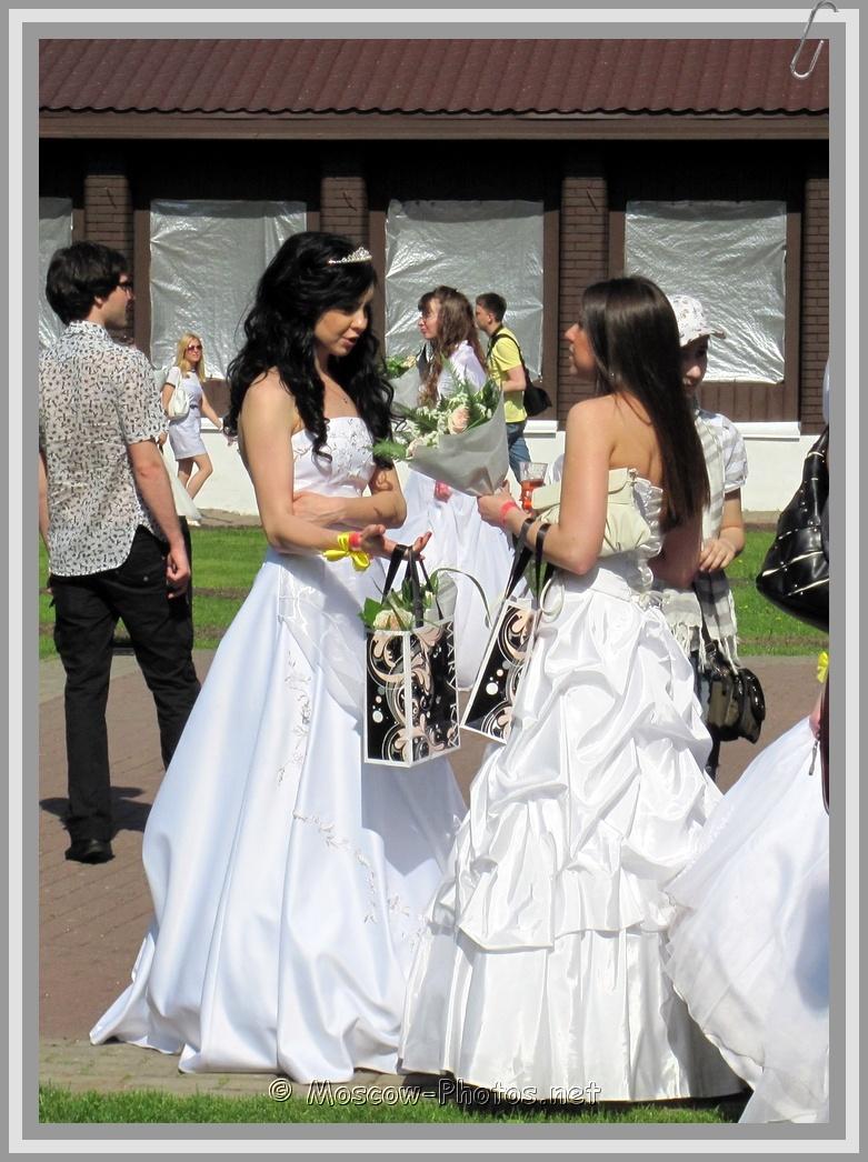 Runaway Brunette Moscow Brides