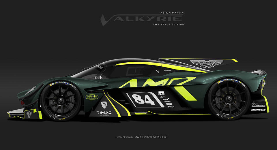 Aston Martin Valkyrie: Track version of auto designed by Adrian Newey