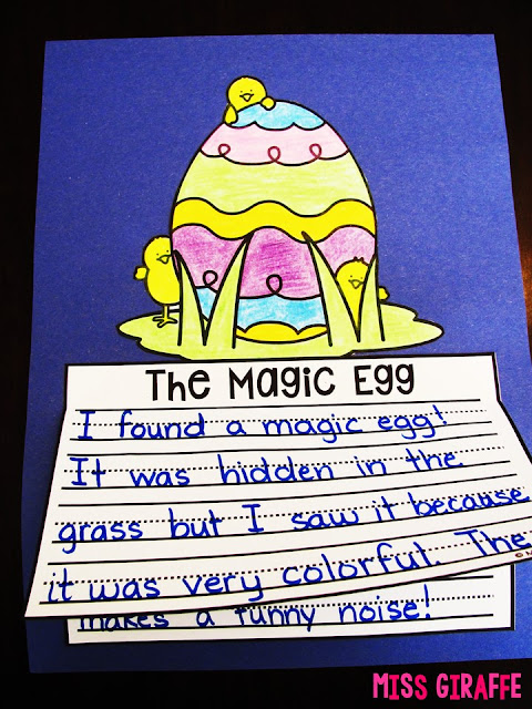 The Magic Egg is a fun Spring creative writing prompt! Click to check out all these fun April writing activities and ideas on this post!