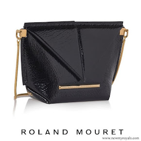 Meghan Markle carried ROLAND MOURET Mini Classico Origami Bag