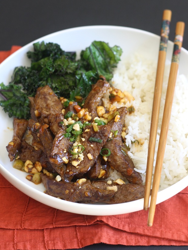 Sichuan Beef Stir Fry with Chili Bean Sauce by SeasonWithSpice.com