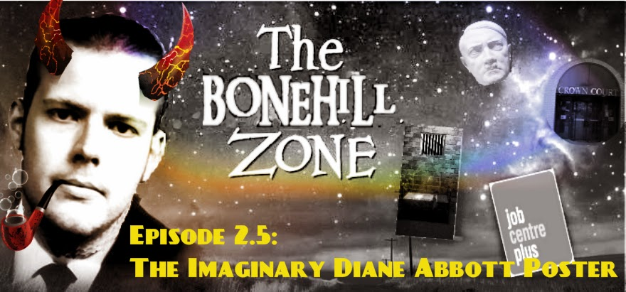 The Bonehill Zone - The Imaginary Diane Abbott Poster