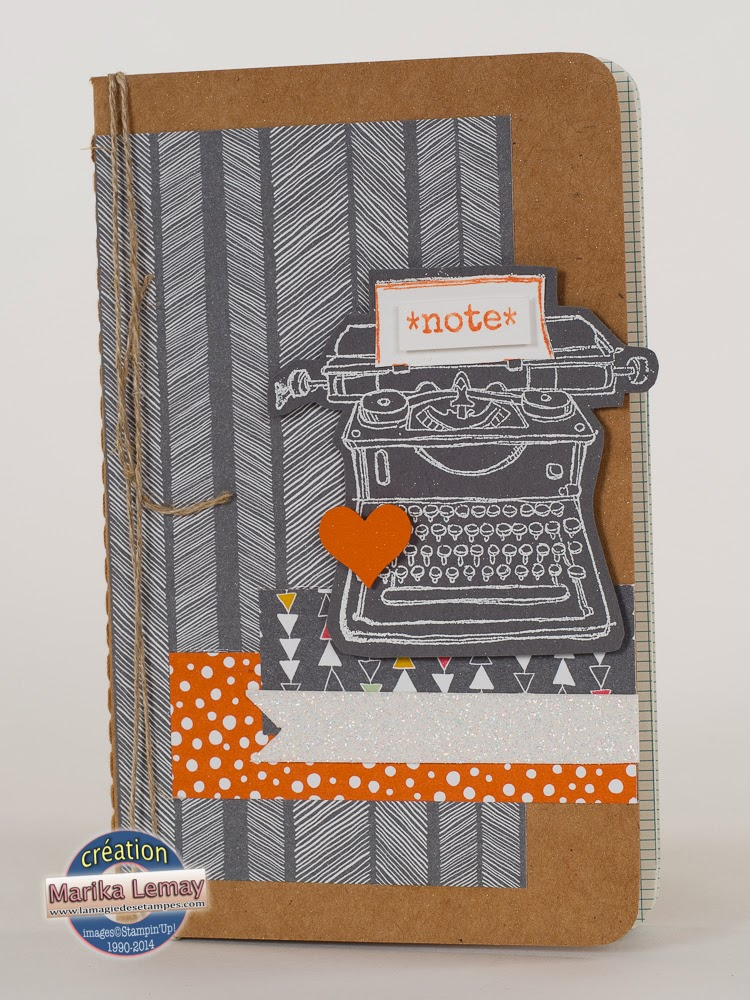 journal Stampin' Up!