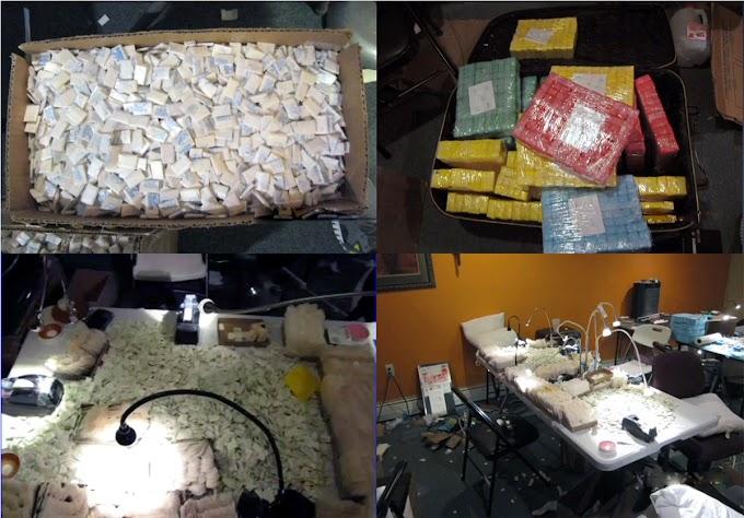 La DEA detiene  doce dominicanos con heroína valorada en US$15MM y $300.000 en efectivo