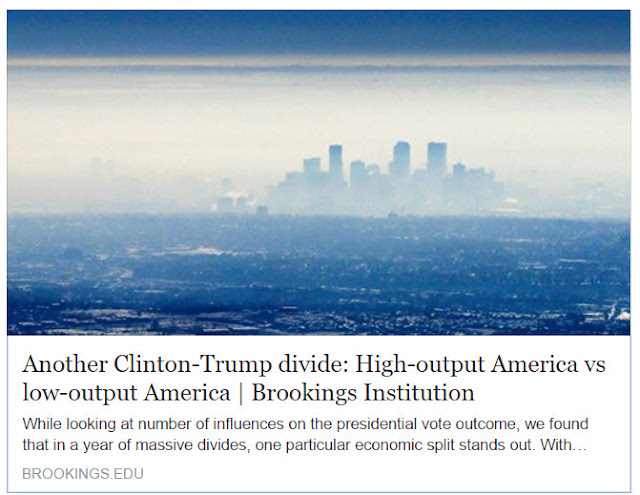 blog avenue another clinton trump divide high output america