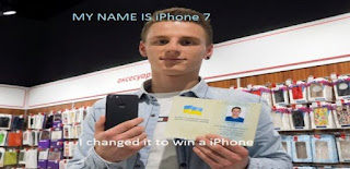 [Tech] Man officially changes his name to 'iPhone 7' to get Apple's latest iPhone