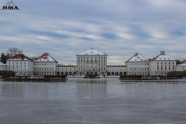 Stadtrundgang München - Schloss Nymphenburg wandern