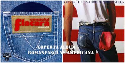 Coperta album Cenaclul Flacara versus Bruce Springsteen