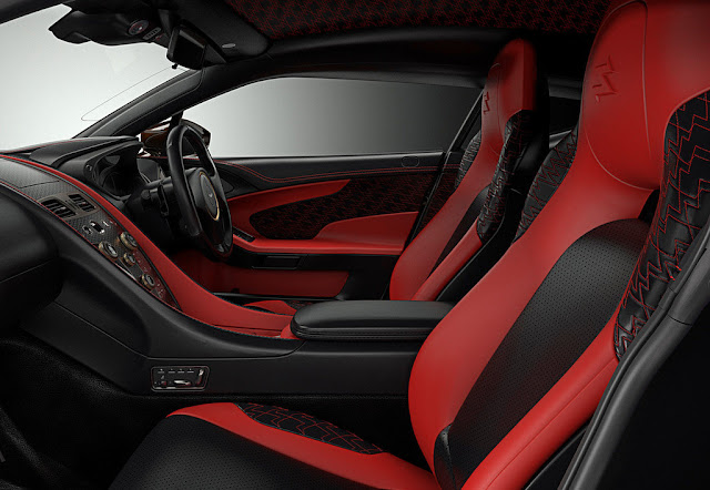 Interior 2016 Aston Martin Vanquish Zagato Concept Interior Wallpaper