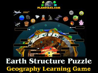 Структура на Земята Пъзел