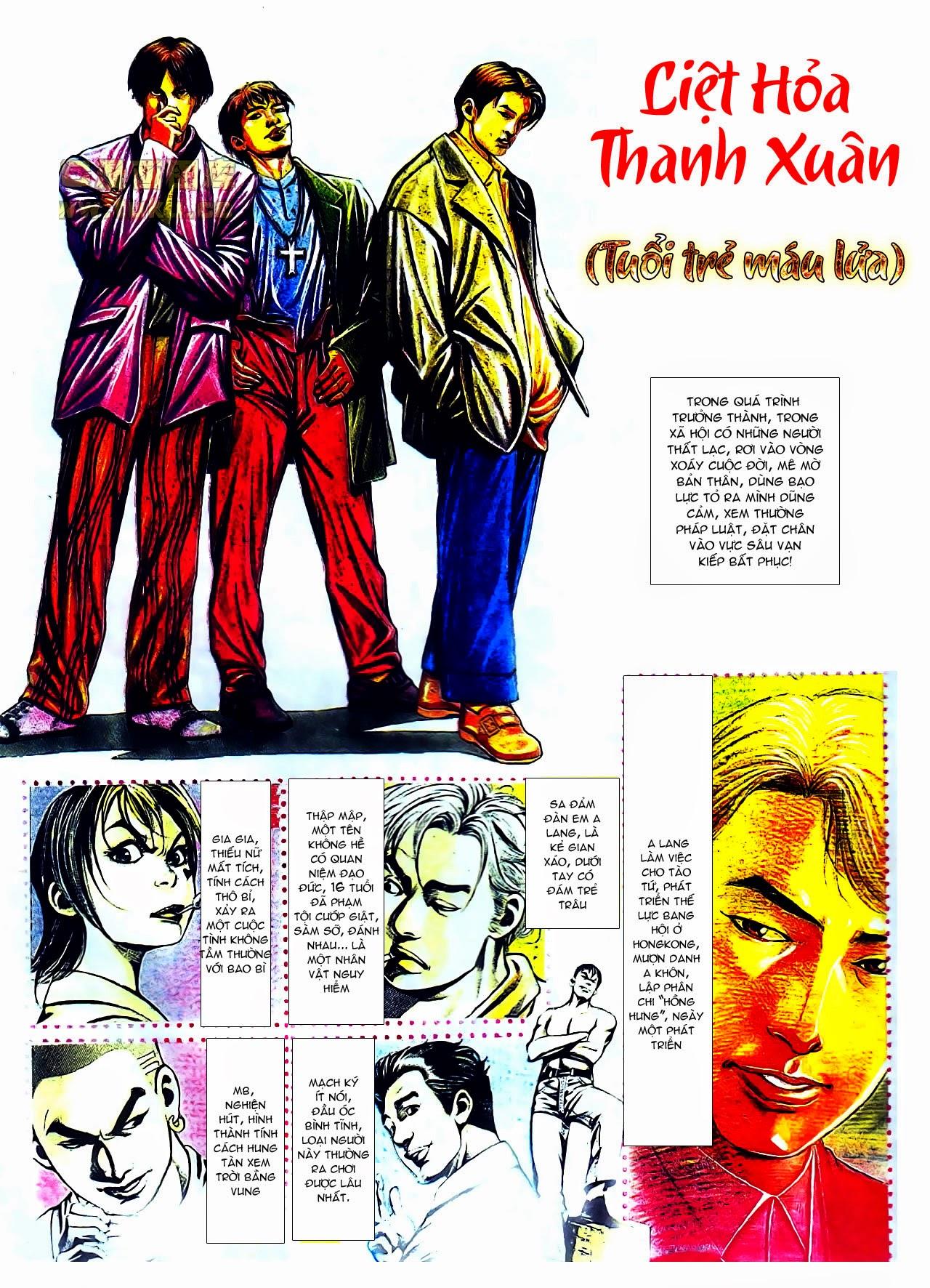 Người Trong Giang Hồ chapter 104: tuổi trẻ máu lửa trang 1