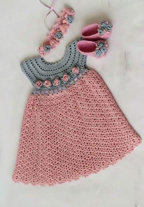 Crochet Yarn Store : ... beautiful dress for girls. pink. crochet yarn store. FREE PATTERNS
