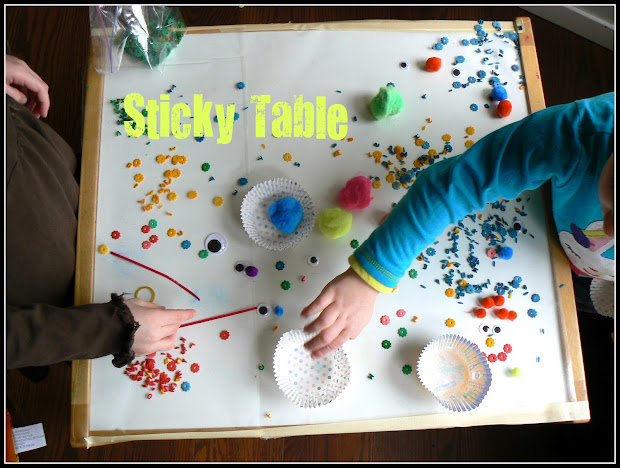 Sticky Activity Table