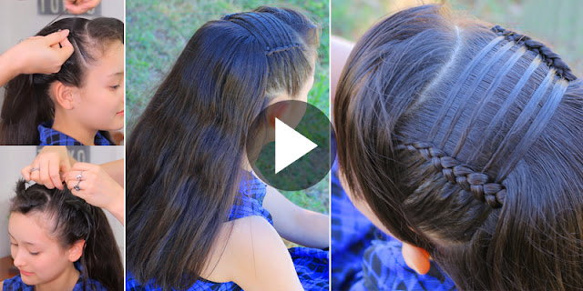 How To Create Feathered Headband Hairstyle, See Tutorial