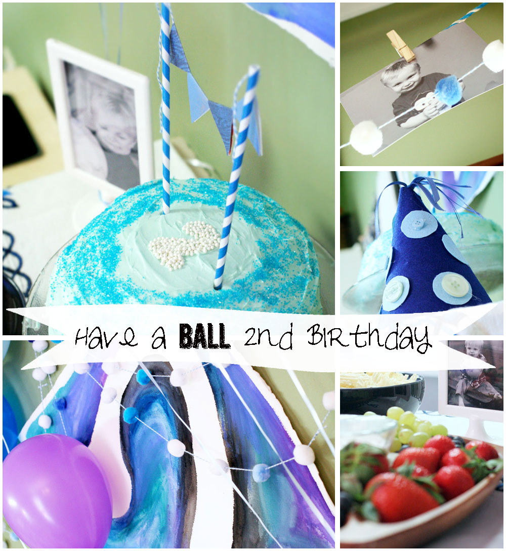 Craftivity Designs: Have A Ball 2nd Birthday Party