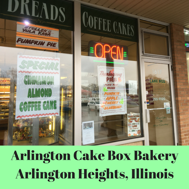 Arlington Cake Box Bakery in Arlington Heights, Illinois