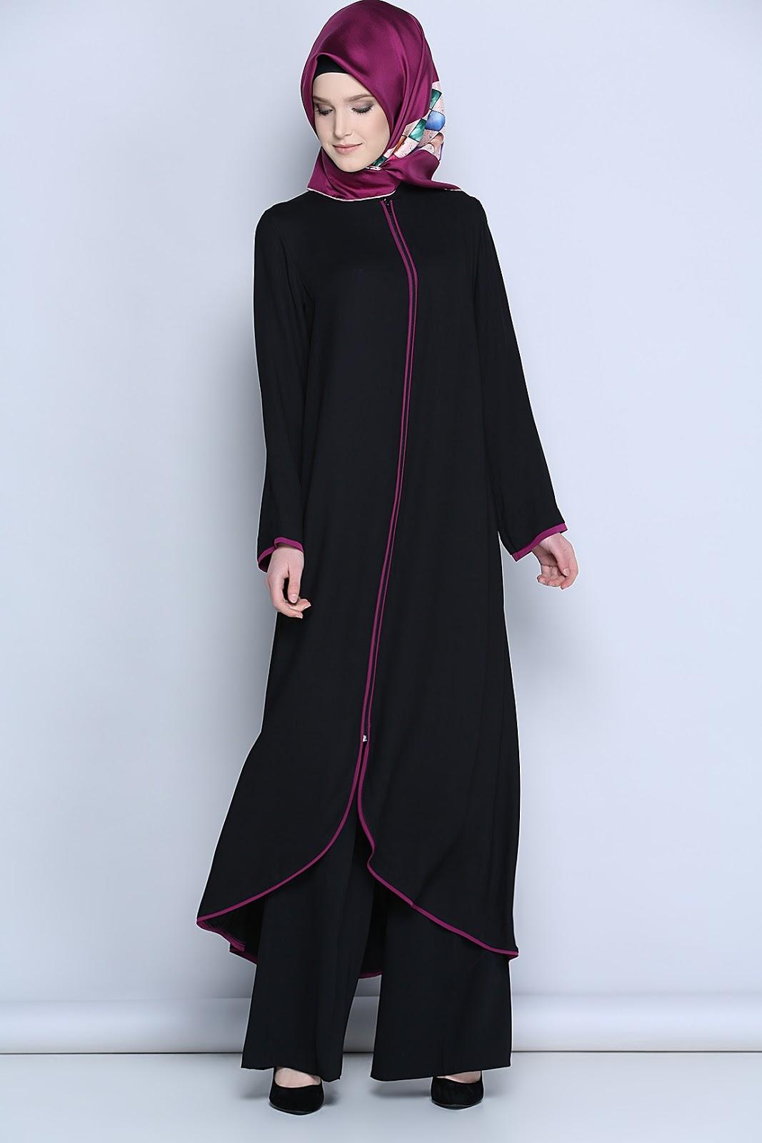 v tement hijab islamique et moderne t 2018 hijab fashion and chic style. Black Bedroom Furniture Sets. Home Design Ideas
