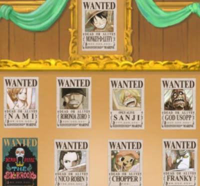 Daftar Harga Buronan One Piece Terbaru