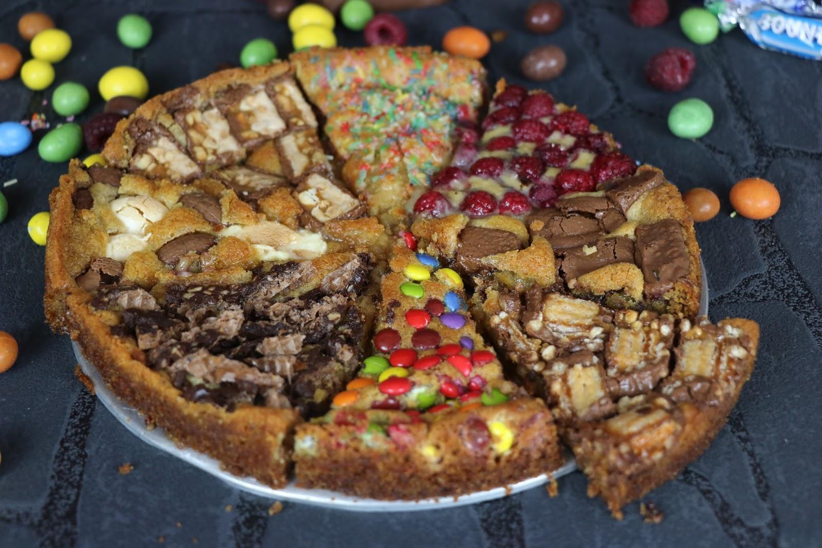 Cookie Pizza Susse Pizza Mit Snickers Smarties Hanuta Etc Zimtduft