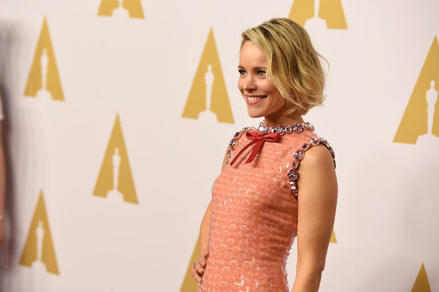 Southpaw actress Rachel Mcadams at Academy Awards Nominee Luncheon in Beverly Hills
