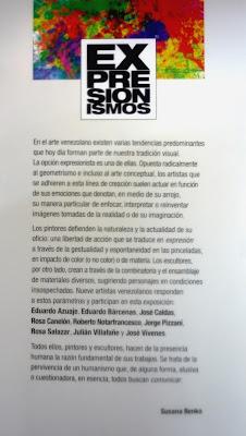 Expresionismos muestra colectiva en el Centro de Arte Integral  Curaduría Susana Benko, Fotografía Gladys Calzadilla.