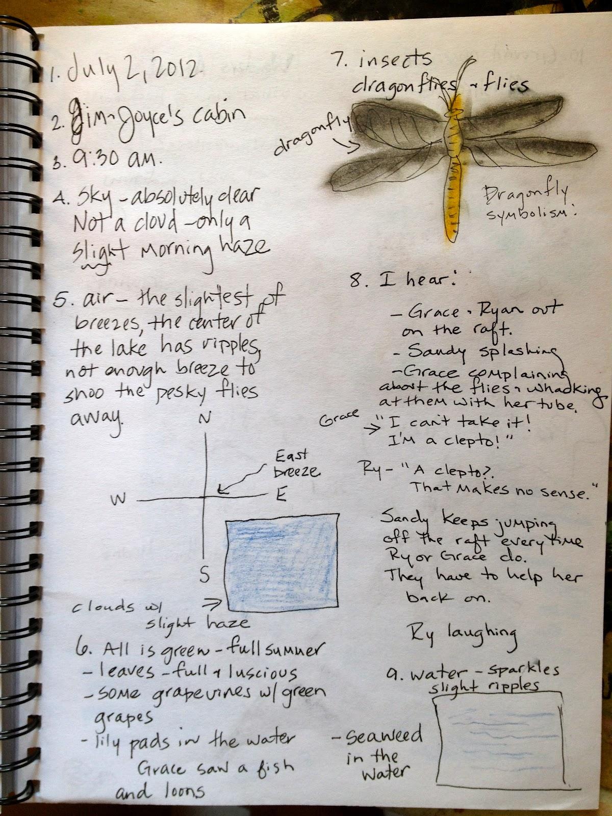 nature journal template - Hizir kaptanband co