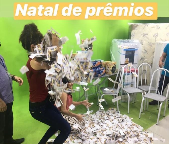 SUCESSO - Em parceria com anunciantes da Tv Cidade Caxias Record Tv, Band Caxias e Veneza Fm, programa Mesa Redonda realiza sorteio Natal de Prêmios SVC